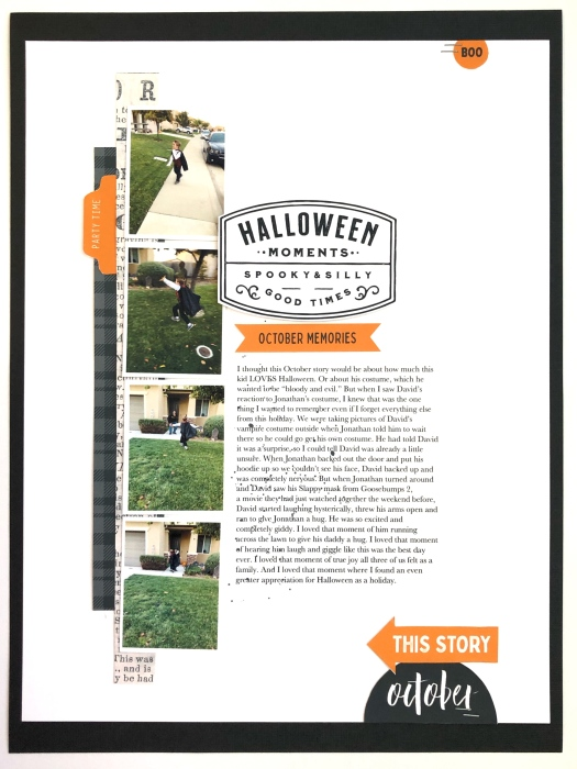 thosemissingpieces Halloween Layout